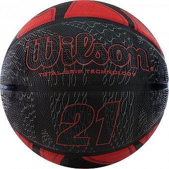 купить Мяч баскетбольный Wilson #7 21 SERIES BSKT RDBL WTB2103XB07 Wilson (2561) в Кишинёве