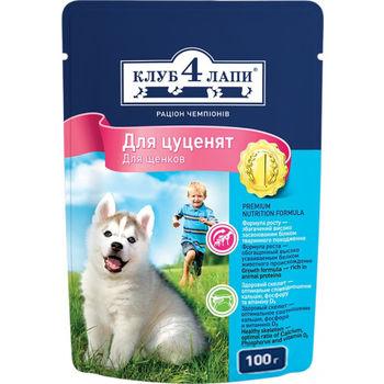 купить Влажный корм для щенков Клуб 4 лапы в Кишинёве