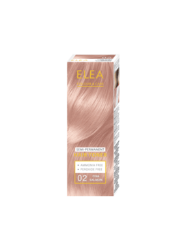 Balsam nuanțător, SOLVEX Elea Hair Toner, 100 ml., 02 - Somon roz
