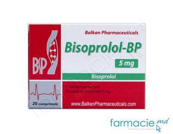 купить Bisoprolol-BP comp.5 mg  N20 (Balkan) в Кишинёве