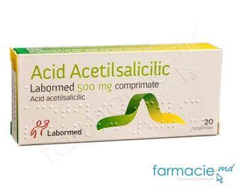 купить Acid acetilsalicilic comp. 500 mg N10x2 (LPH) в Кишинёве