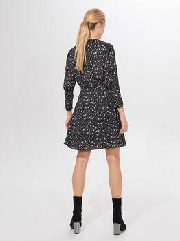 Платье MOHITO Черный с принтом zk663