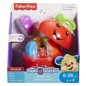 """Обучающая игрушка - музыкальный сортер """"Яблочко"""" (Рум) Fisher-Price, код FLN87"""