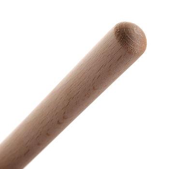 Рукоятка деревянная для метлы 150 см