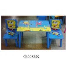 Столик со стульчиком SpongeBob