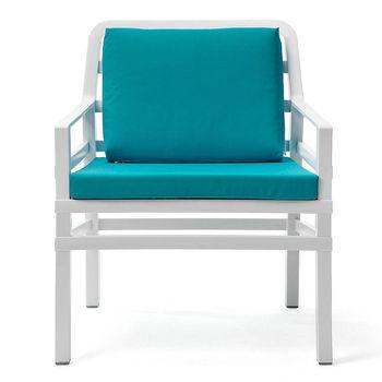 Кресло с подушками Nardi ARIA BIANCO sardinia 40330.00.072.072 (Кресло с подушками для сада и терас)