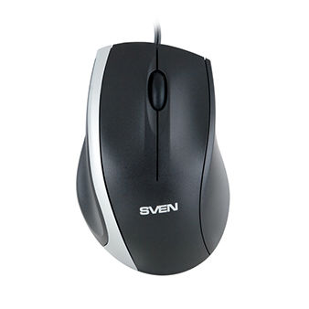 Mouse SVEN RX-180, Optical Mouse, 800 dpi, USB, Black