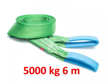 купить Ремень буксировочный с Петлями 5000 kg 6 m в Кишинёве