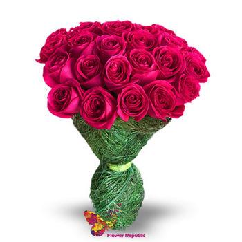 купить Розы цветы  Фуксия 60-70 в Кишинёве