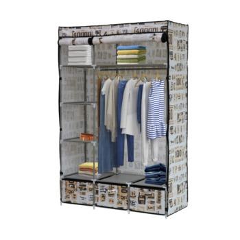 купить Шкаф для одежды с четырьмя полками и тремя ящиками 1100х460х1680 мм в Кишинёве