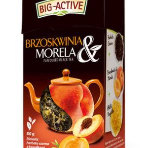 купить Чай черный Big Active with Peach & Apricot, 80 г в Кишинёве