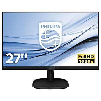 "27.0""  PHILIPS IPS LED 273V7QJAB Glossy Black (5ms, 10M:1, 250cd, 1920x1080, HDMI, DVI, DP, Speakers, VESA)"
