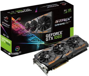 cumpără VGA card PCI-E ASUS STRIX-GTX1060-O6G-GAMING în Chișinău