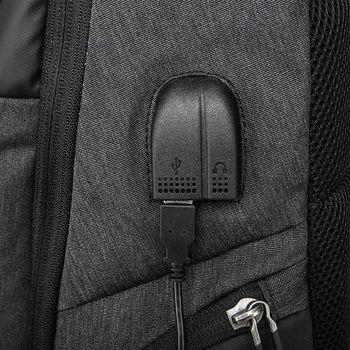 купить Рюкзак  для ноутбука 15,6 KAKA 2215-D чёрный в Кишинёве