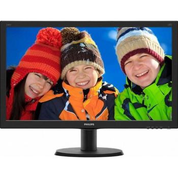 "купить ""23.8"""" Philips """"240V5QDAB"""", Black (IPS, 1920x1080, 5ms, 250cd, LED10M:1, HDMI +DVI +D-Sub, Speakers) (23.8"""" IPS-ADS W-LED, 1920x1080 Full-HD, 0.275mm, 5 ms GtG, 250 cd/m², DCR 10 Mln:1 (1000:1), 16.7M Colors, 178°/178° @C/R>10, 30-83 kHz(H)/56-76 Hz(V), HDMI + DVI-D + Analog D-Sub, Stereo Audio-In, Headphone-Out, Built-in speakers, Built-in PSU, Fixed Stand (Tilt -5/+20°), VESA Mount 100x100, Black-Hairline)"" в Кишинёве"