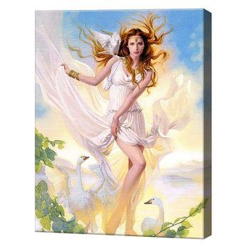 Картина по номерам 40х50см Древнегреческая богиня