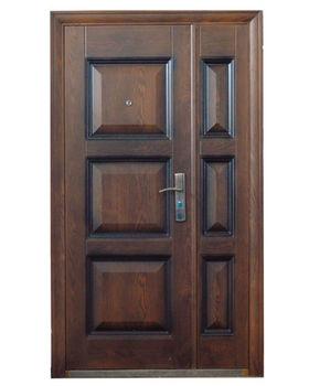 Дверь металлическая TPC 143F 1200x2050x70 мм орех