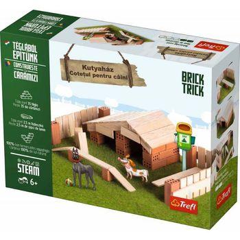 купить Trefl конструктор керамический Brick Trick Doghouse в Кишинёве