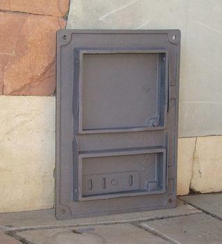 купить Дверца чугунная глухая правая DPK4R в Кишинёве