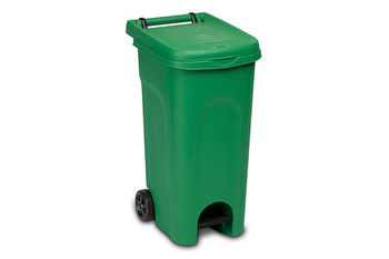 Мусорный бак Urban Eco Stefanplast зеленый 80 л