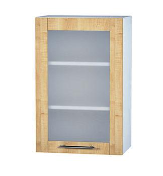 ШКВ с стеклянной дверью, белый,  500 мм