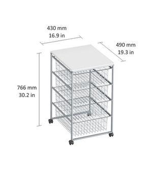 cumpără Container corpus pentru 4 boxe 700x490x430 mm, argintiu în Chișinău
