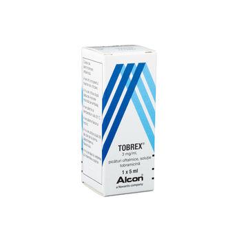 cumpără Tobrex 3mg/ml 5ml pic. oft. în Chișinău