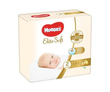 cumpără Scutece Huggies Elite Soft 2 (4-6 kg), 25 buc. în Chișinău