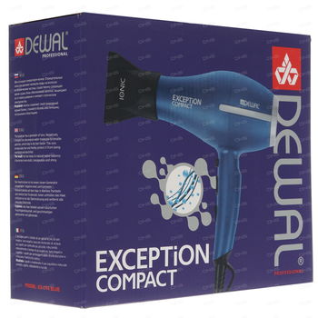 Uscator de par 2200 W EXCEPTION Compact DEWAL 03-114 Blue