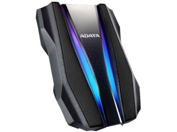 1,0 ТБ (USB3.2) 2,5 дюйма ADATA HD770G RGB IP68, защищенный от воды / ударов / пыли, черный (AHD770G-1TU32G1-CBK)