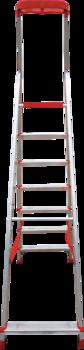 купить Стремянка с площадкой и лотком для инструмента (7ст - узкие) 3150107 в Кишинёве