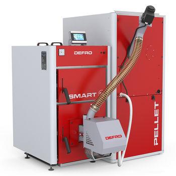 купить Твердотопливный котёл Defro Smart EkoPell 12 кВт в Кишинёве