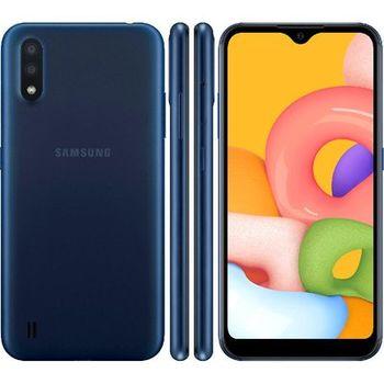 купить Samsung Galaxy A01 2/16Gb, Blue в Кишинёве