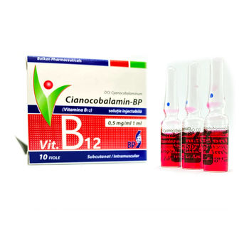 cumpără Cianocobalamin-BP (Vitamina B12) 500mcg/ml sol.inj. N5x2 în Chișinău