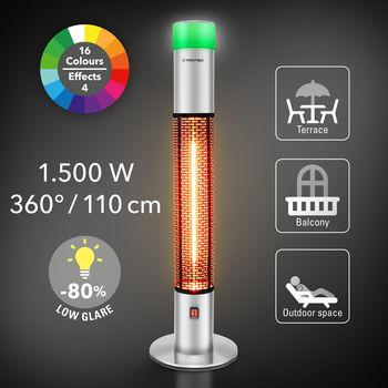 купить Дизайнерский инфракрасный обогреватель для террасы Trotec IRS 1500 E в Кишинёве