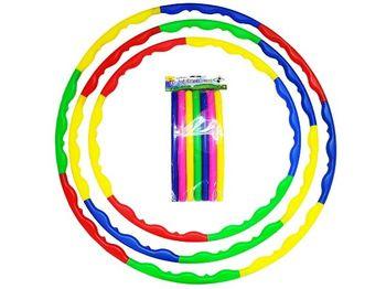 Обруч разборный пластиковый 6 частей