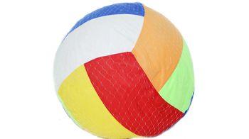 Мяч тряпичный надувной, большой T911-050 (4442)