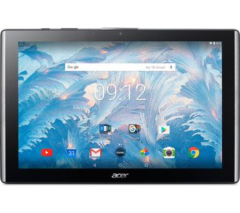 "10.1"" ACER Iconia Tab 10 B3-A40, Black (10.1"" IPS FullHD 1920x1200, MT8167A Quad-Core 1.5GHz, 2GB RAM, 32GB, GPS, 5MPx+2MPx Cam, DTS-HD Premium Sound®, WiFi-N/BT4.0, MicroUSB, MicroSD, Android 7.0, 6100mAh up to 13hr, 530gr)"