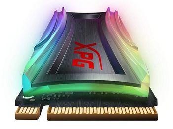 .M.2 NVMe SSD 256 ГБ ADATA XPG GAMMIX S40G RGB [PCIe3.0x4, R / W: 3500/3000 МБ / с, 220/290 000 операций ввода-вывода в секунду, 3DTLC]