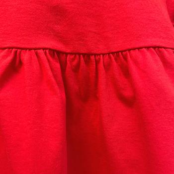 Платье R01 красное