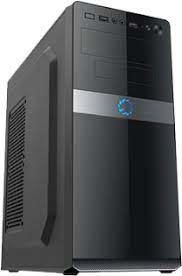 Корпус ATX 500W Sohoo 5908BG, 2xUSB2.0, черно-серый, ATX-500W-12см