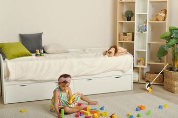 Детская кровать SPATIO белый ясень