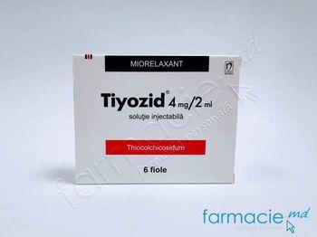 купить Tiyozid® sol. inj. 4 mg/2 ml  2 ml N6 в Кишинёве