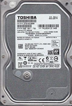 """.500GB HDD 3.5"""" Toshiba Deskstar 7K1000.D 7200rpm, 32Mb, SATA3 (HDS721050DLE630)"""