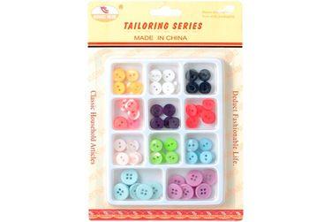 купить Набор пуговиц разноцветных 11цветовX8ед в Кишинёве