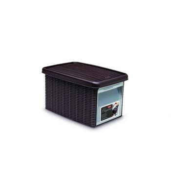 купить Коробка Elegance с боковой дверцей S 190x290x160 мм, коричневый в Кишинёве
