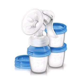 купить Philips Avent ручной молокоотсос с контейнерами в Кишинёве