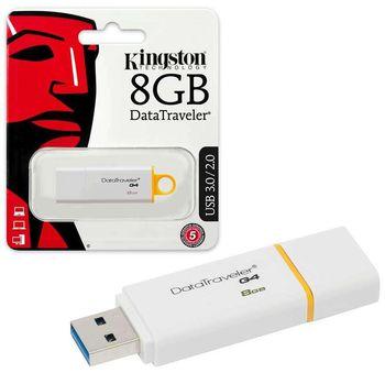 купить Флэш USB Kingston 8GB DataTraveler G4 в Кишинёве