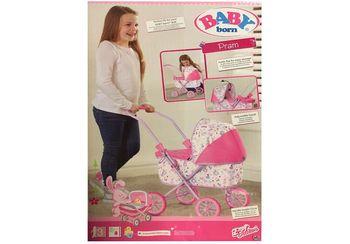 """Коляска для кукол """"Моя первая коляска"""", код 41955"""
