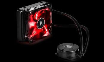 """купить DEEPCOOL Liquid Cooler """"MAELSTROM 120T Red"""", Socket 775/1150/1151/1155/2011 & FM2/AM3+ в Кишинёве"""